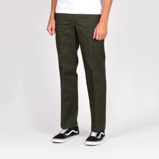 873 Straight Work Pant Olive Green