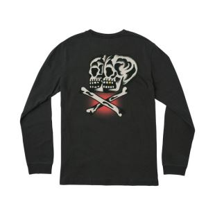 Double Skull LS Black