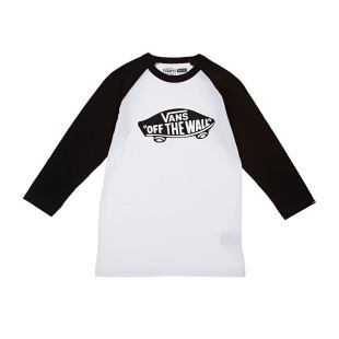 BY OTW Raglan Boys White Blk Blk