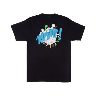 Break Out Tee Black