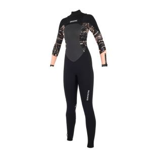 Diva 4/3 mm Fullsuit Double Frontzip 2019 - Black / Pink