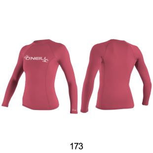 Wms Basic Skins L/S Rash Guard