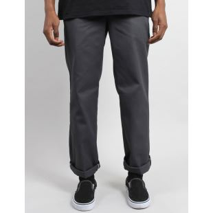 873 Straight Work Pant Charcoal Grey