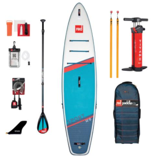 Pack Red Paddle Co - Sport MSL 2021 + pagaie + leash