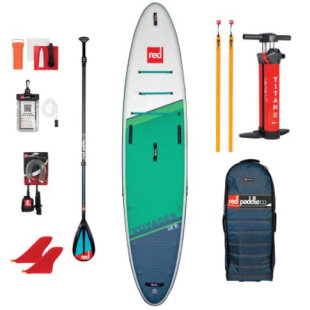 Pack Red Paddle Co - Voyager 12'6 MSL 2021 + pagaie + leash
