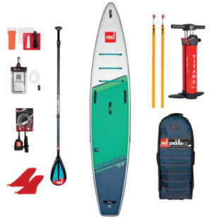 Pack Red Paddle Co - Voyager 13'2 MSL 2021 + pagaie + leash