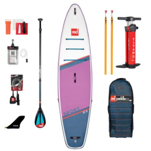 Pack Red Paddle Co - Sport 11'3 Special Edition MSL 2021 + pagaie + leash