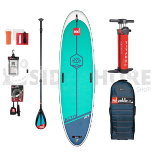 Pack Red Paddle Co - Activ 10'8 MSL 2021 + pagaie + leash