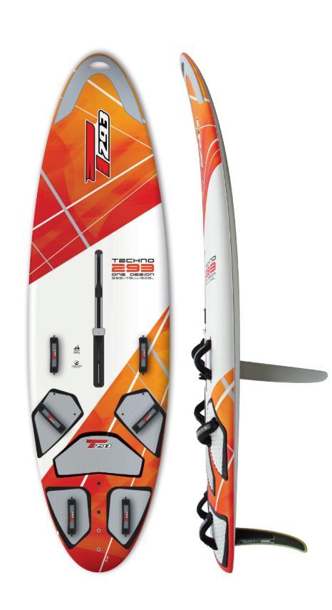 Techno 293 One Design Dt Bic Windsurf Flotteurs Side Shore