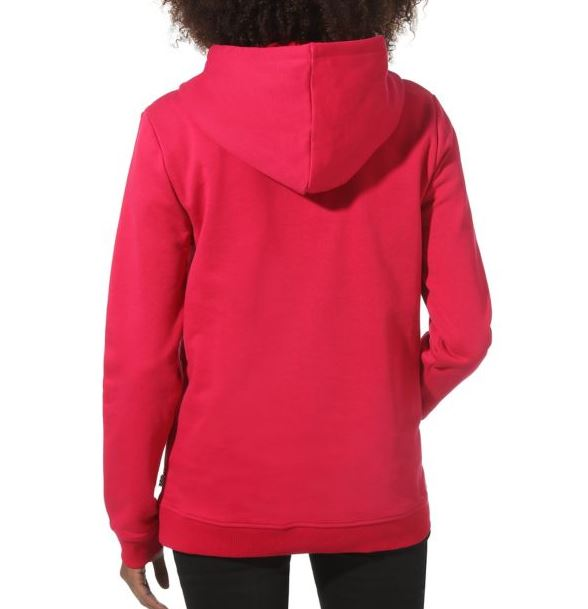 wn attendance hoodie cerise vans women sweats capuches
