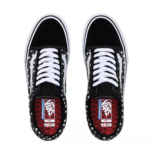 Vans x Baker Old Skool Pro Shoes (dollin polka dots)