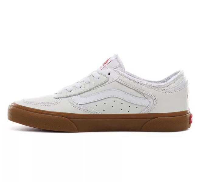 rowley classic true white gum vans men men side shore