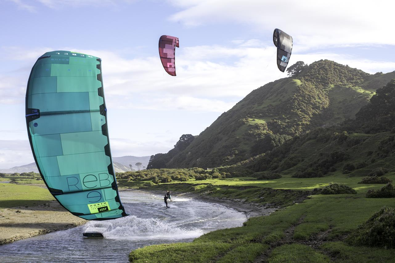 Aile De Kitesurf North Kiteboarding Rebel 2018 Side